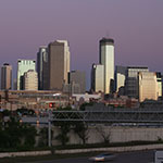 twin cities skyline